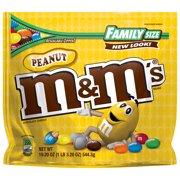 M&M's Peanut Milk Chocolate Candy, 19.2 Oz.