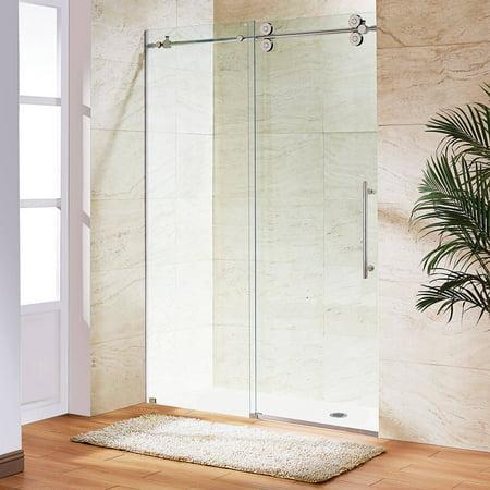 0.375' Frosted Shower Enclosure - Vigo 48