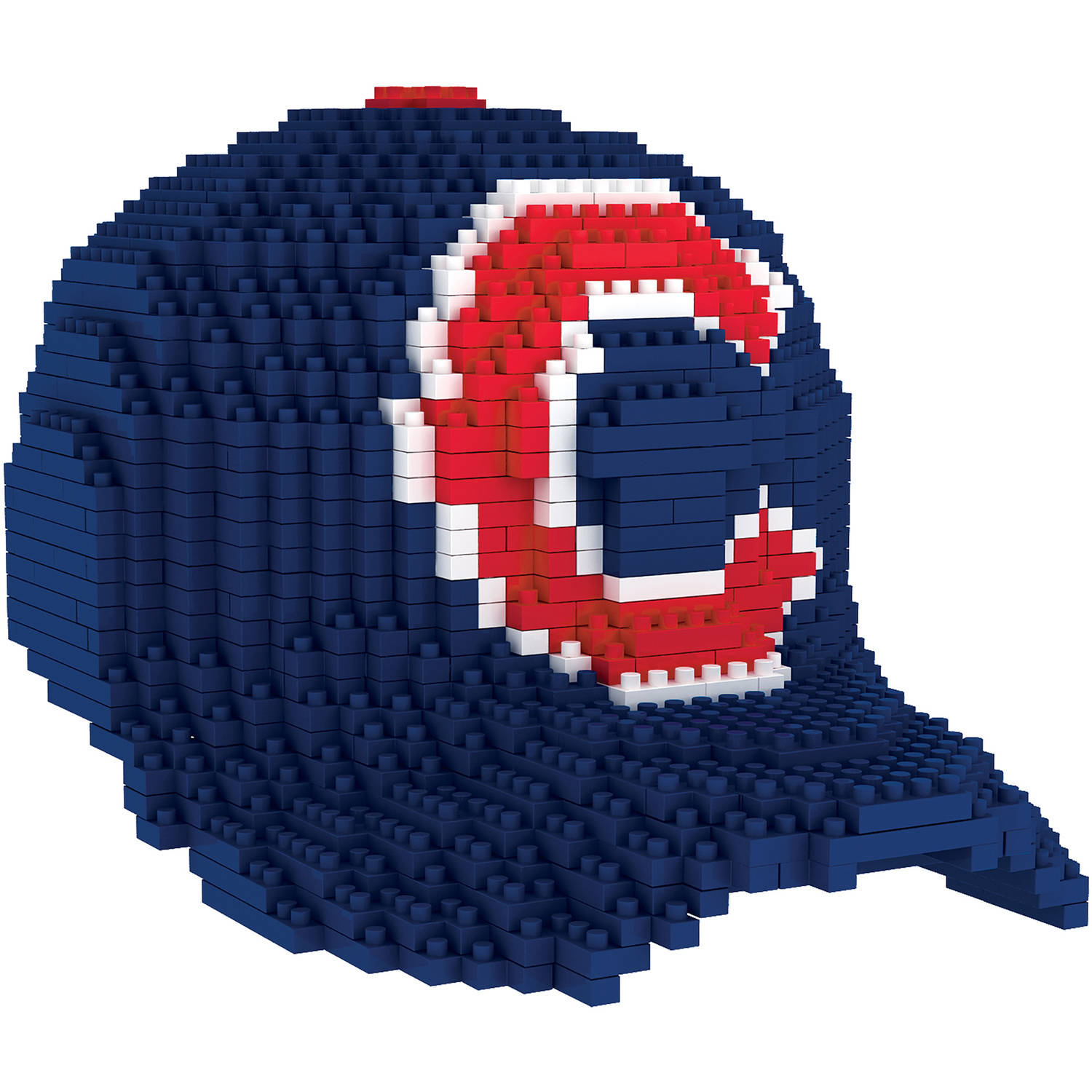 Forever Collectibles MLB 3D BRXLZ Mini Cap, Chicago Cubs