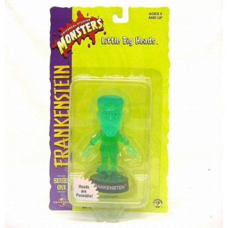 Little Big Heads Universal Studios Transluscent Green Frankenstein](Frankenstein Head Piece)