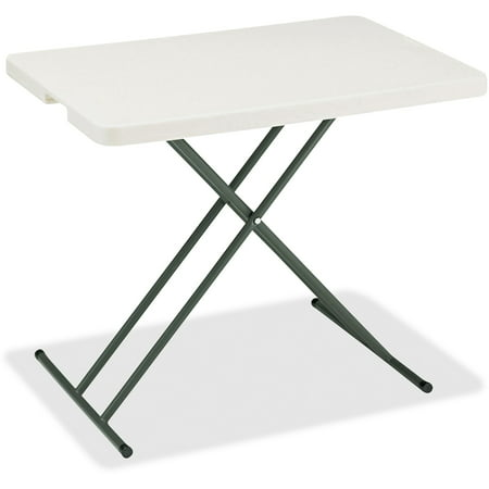 - Iceberg, ICE65490, IndestrucTable TOO 1200 Series Adjustable Personal Folding Table, 1 Each