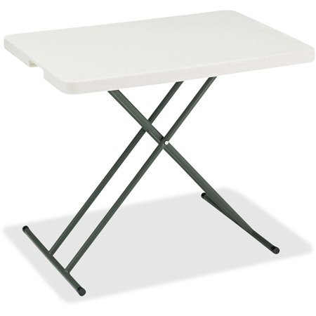 Iceberg, ICE65490, IndestrucTable TOO 1200 Series Adjustable Personal Folding Table, 1 Each
