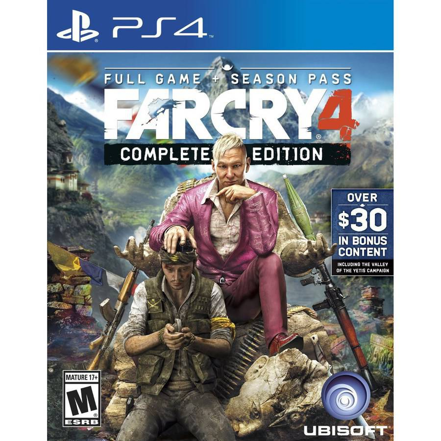 Far Cry 4 Complete Edition (PS4)