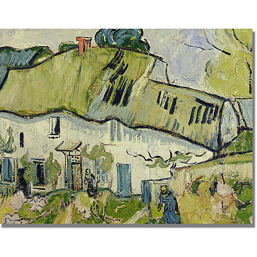 "Trademark Fine Art ""The Farm in Summer"" Canvas Art by Vincent van Gogh"