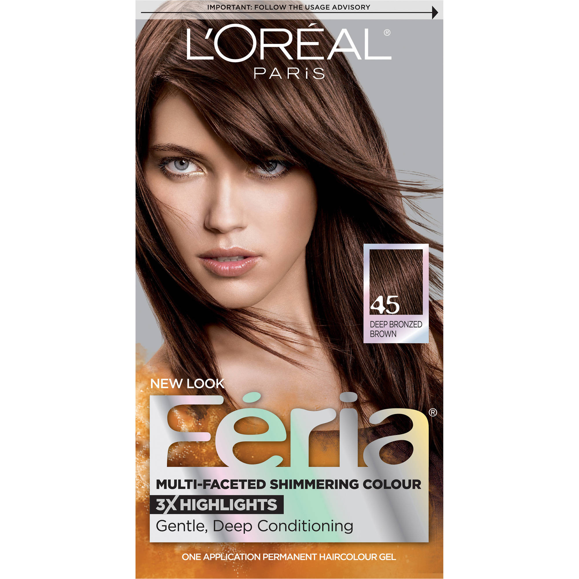 Lu0026#39;Oreal Paris Feria Multi-Faceted Shimmering Color - Walmart.com