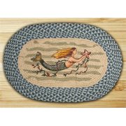 Earth Rugs 65-245M Mermaid Oval Patch
