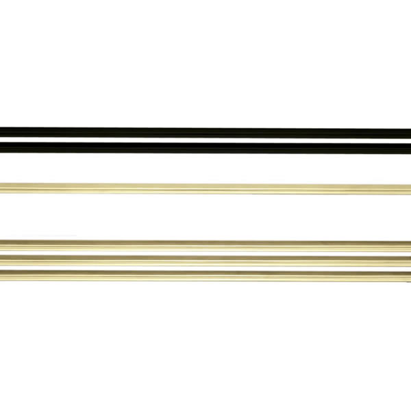Napoleon  GI-1L  Fireplace  Accessory  Louvers  ;Black / Polished Brass