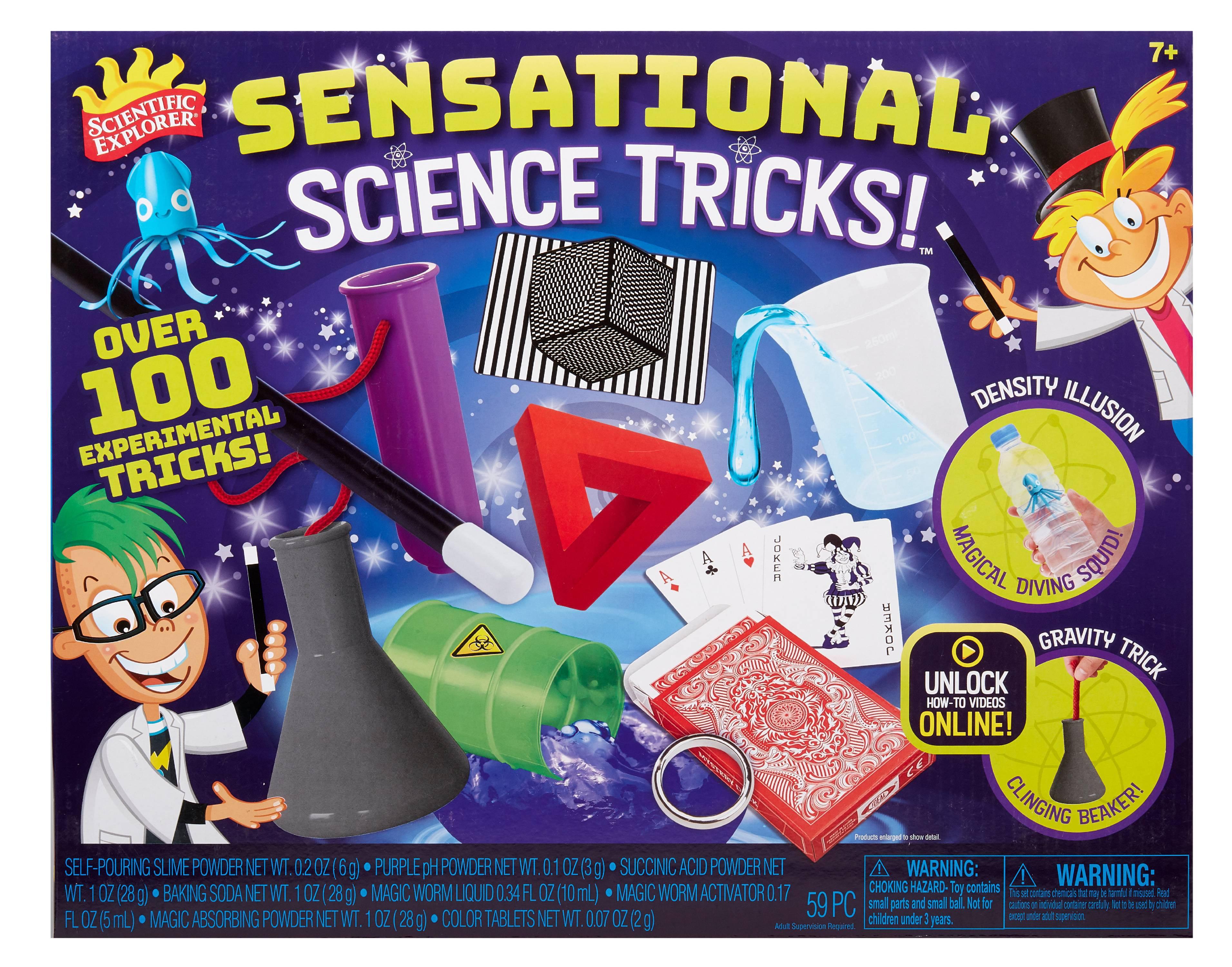 Scientific Explorer Science Tricks