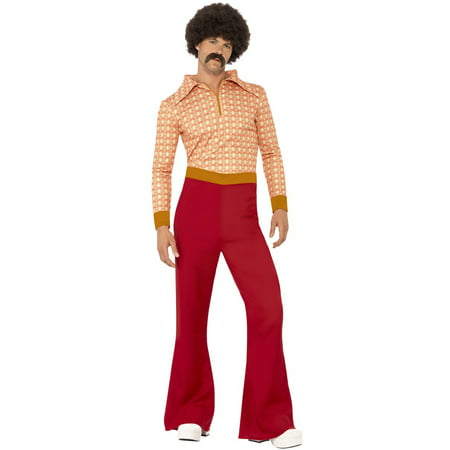 70s Cool Guy Adult Costume - Fat Guy Costumes