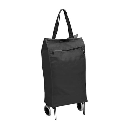 FOLDING SHOPPING CART TOTE W  WHEELS - Walmart.com d4159918588a6