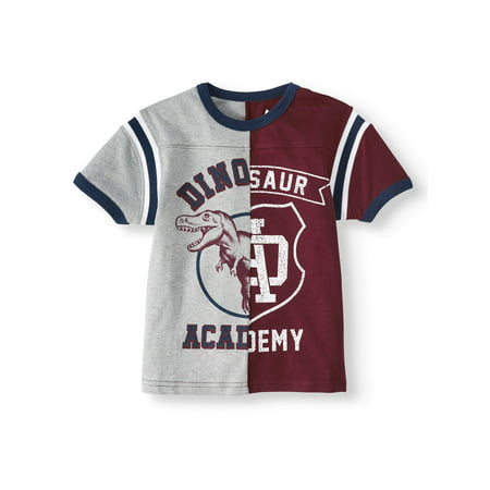 365 Kids from Garanimals Graphic Short Sleeve Split T-Shirt (Little Boys & Big Boys)