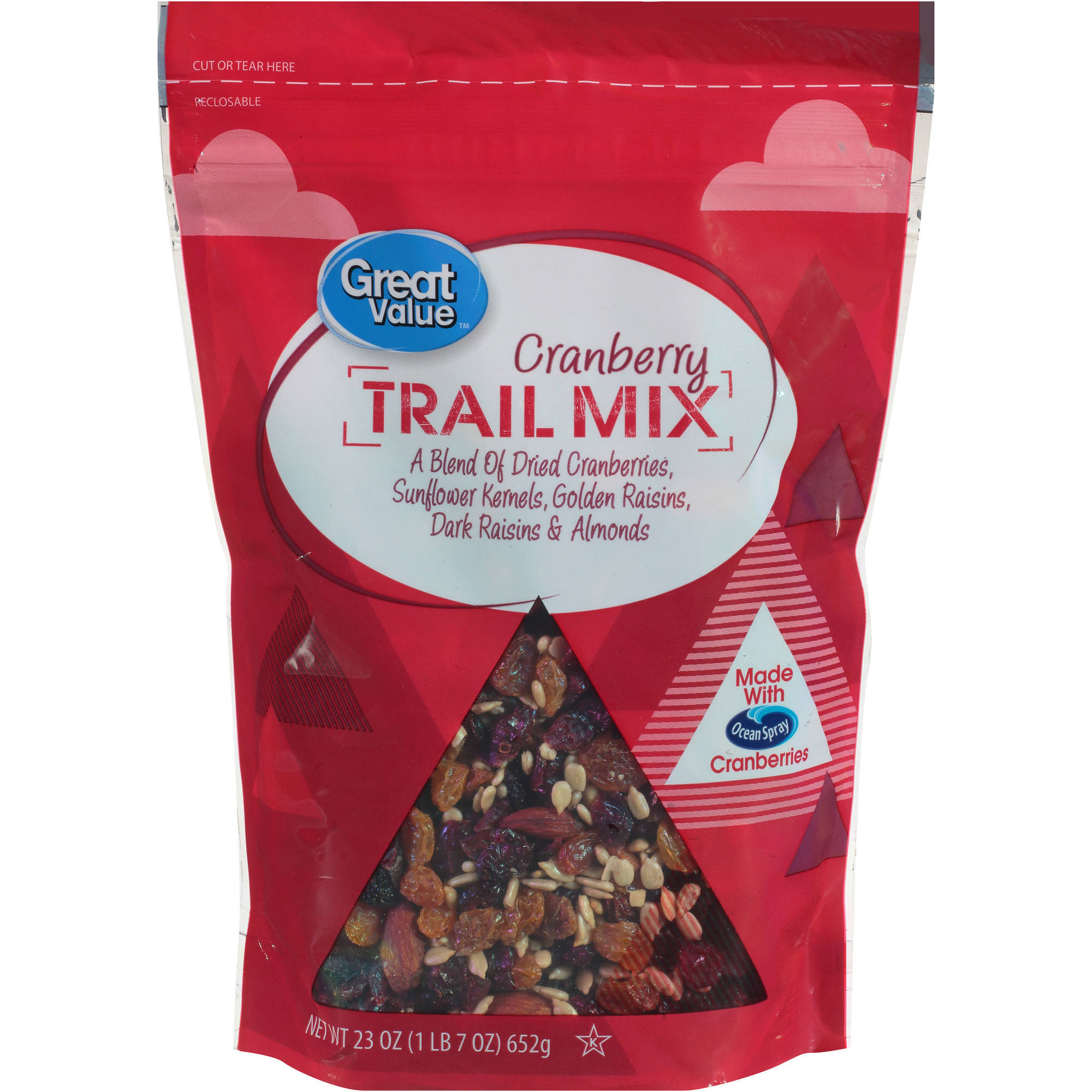 Great Value Cranberry Trail Mix, 23 oz