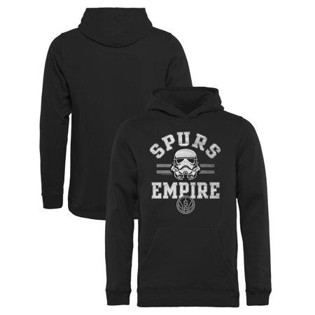 Nba Halloween Costumes (San Antonio Spurs Fanatics Branded Youth Star Wars Empire Pullover Hoodie -)