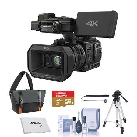 Panasonic HC-X1000 1080p 4K Ultra High Definition Camcorder Basic Acc Bundle
