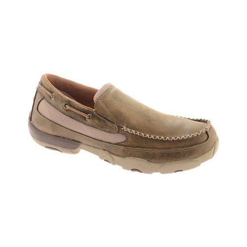 Men's Twisted X Boots MDMS002 Driving Moc Slip On