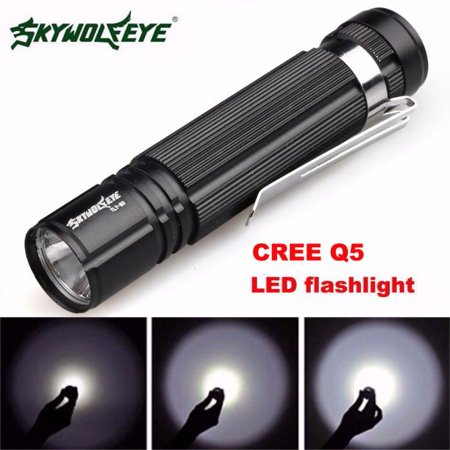 7W CREE Q5 LED 1200lm Mini Torch Light 14500/AA Lamp (Ultrafire Cree Q5 Led Mini Focus Torch)