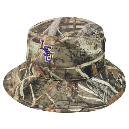 377701cc09c LSU Tigers Louisiana State Bucket Hat Realtree Camo Boonie Max - Walmart.com