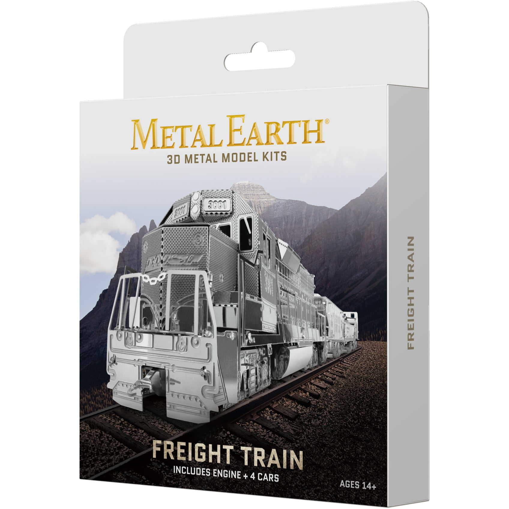 Metal Earth 3D Metal Model Kit Freight Train Box Set by Fascinations