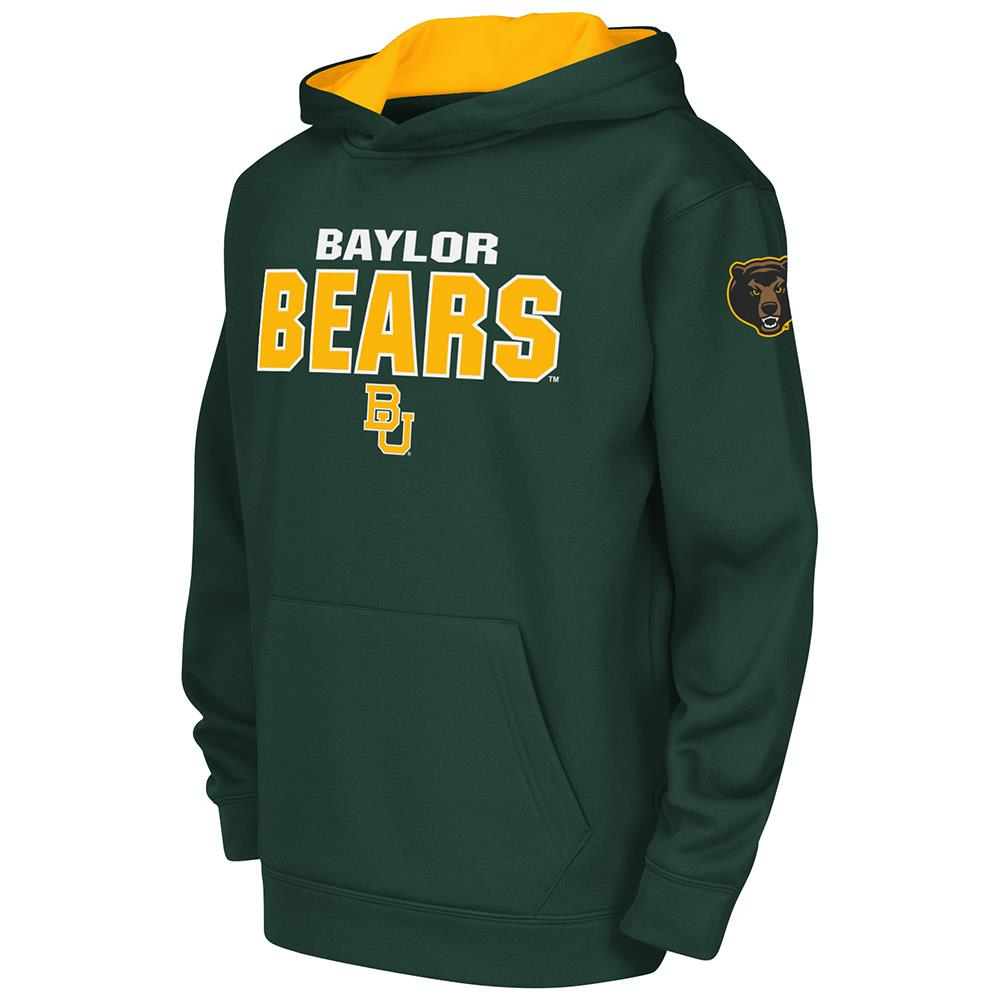 Youth Baylor Bears Poly Pull-over Hoodie