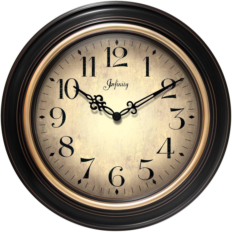 "Infinity Instruments Birmingham 24"" Wall Clock"