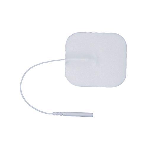 """Image of Advantrode Elite TENS electrode, 2""""x2"""", white foam, 40/box"""