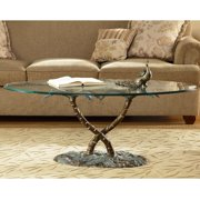 San Pacific International Palm Tree Coffee Table