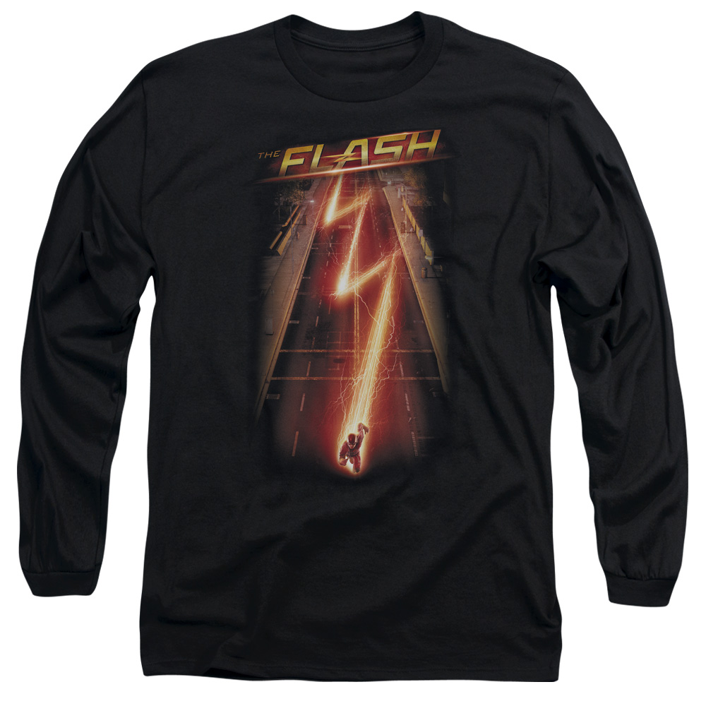 The Flash Flash Ave Mens Long Sleeve Shirt