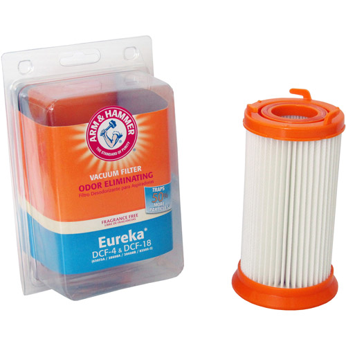 Arm & Hammer Odor-Eliminating Vacuum Filters, Eureka DCF-4 and DCF-18