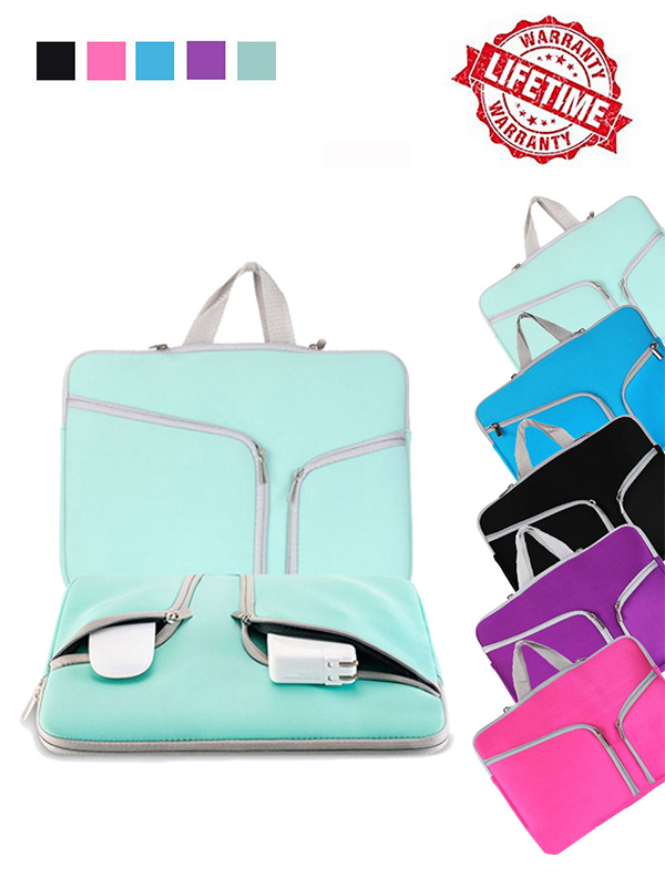 Laptop Sleeve Bag Start The Train Cover Computer Liner Package Protective Case Waterproof Computer Portable Bags