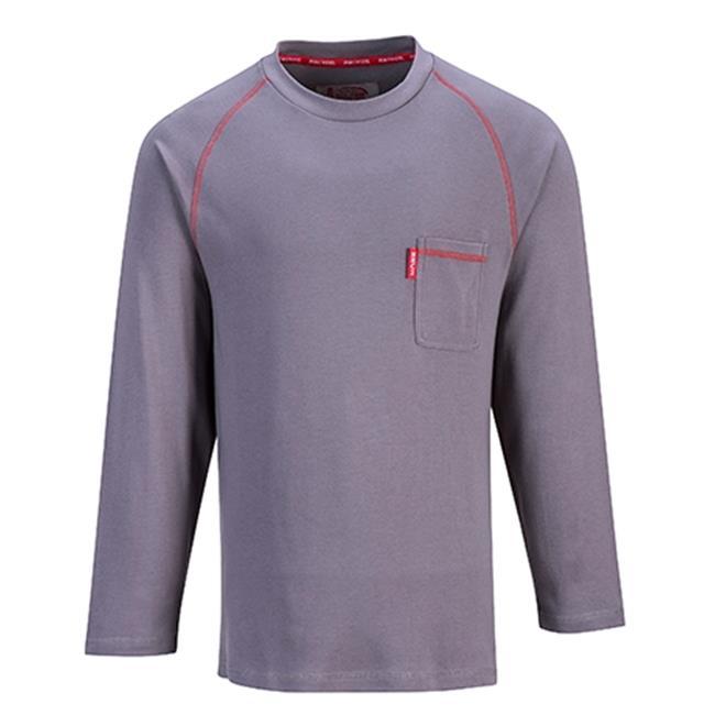 Portwest FR01 Large Bizflame Crew Neck T-Shirt, Navy - Regular - image 1 of 1