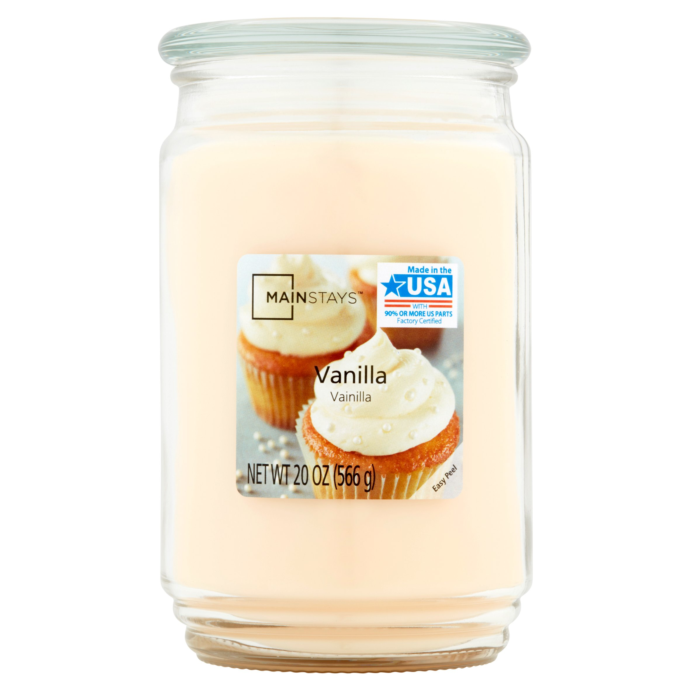 Mainstays 2-Pack Scented Candles, Vanilla, 20 oz by Wal-Mart Stores, Inc.