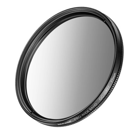 Neewer 77mm Graduated Neutral Density Filter (Grey) for Canon Rebel with Canon EOS EF 24-105mm f/4 L IS USM Zoom Lens,Nikon 28-300mm f/3.5-5.6G ED VR II AF-S Zoom Lens and Other Cameras with 77mm Lens Modulator Gray Lens