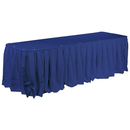 Set Of Royal Blue Hotel Linens For Banquet Tables 96 X 30