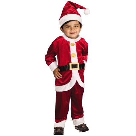 child's little santa costume, toddler (Toddler Santa Costume)