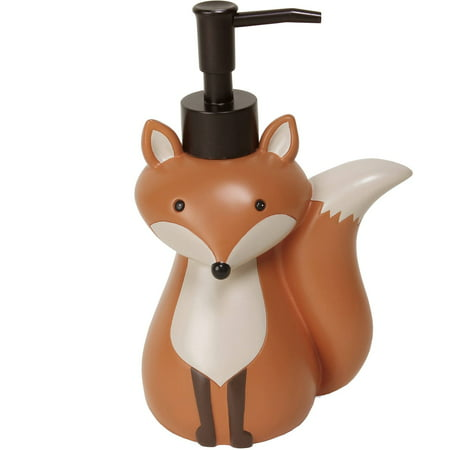 Mainstays Resin Kids Woodland Creatures Lotion Pump, 1 Each