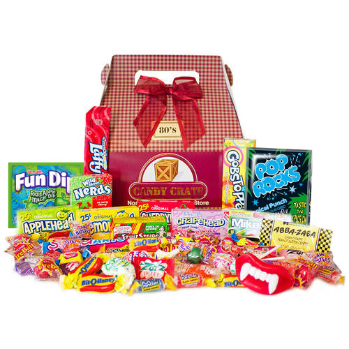 Candy Crate 1980's Retro Candy Gift Box, 2.5 lbs
