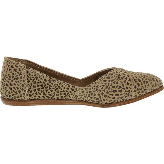 4aa41ace8e2 TOMS - Toms Women s Jutti Animal Print Suede Cheetah Suede Printed ...