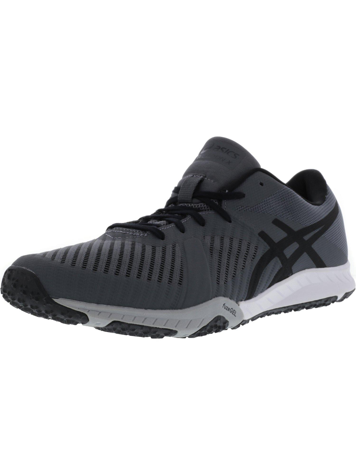 Asics Men's Weldon X Black / Carbon White Ankle-High Running Shoe - 10.5M