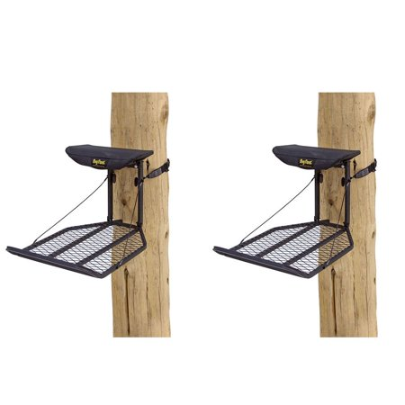 (Rivers Edge Big Foot XL Hang On Extra Wide Portable Hunting Tree Stand (2 Pack))
