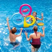 Blue Wave Tri-Hoop Disc Toss Pool Game
