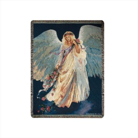 Messenger Of Love Tapestry Throw Blanket Fashionable Jacquard Woven 50 X 60