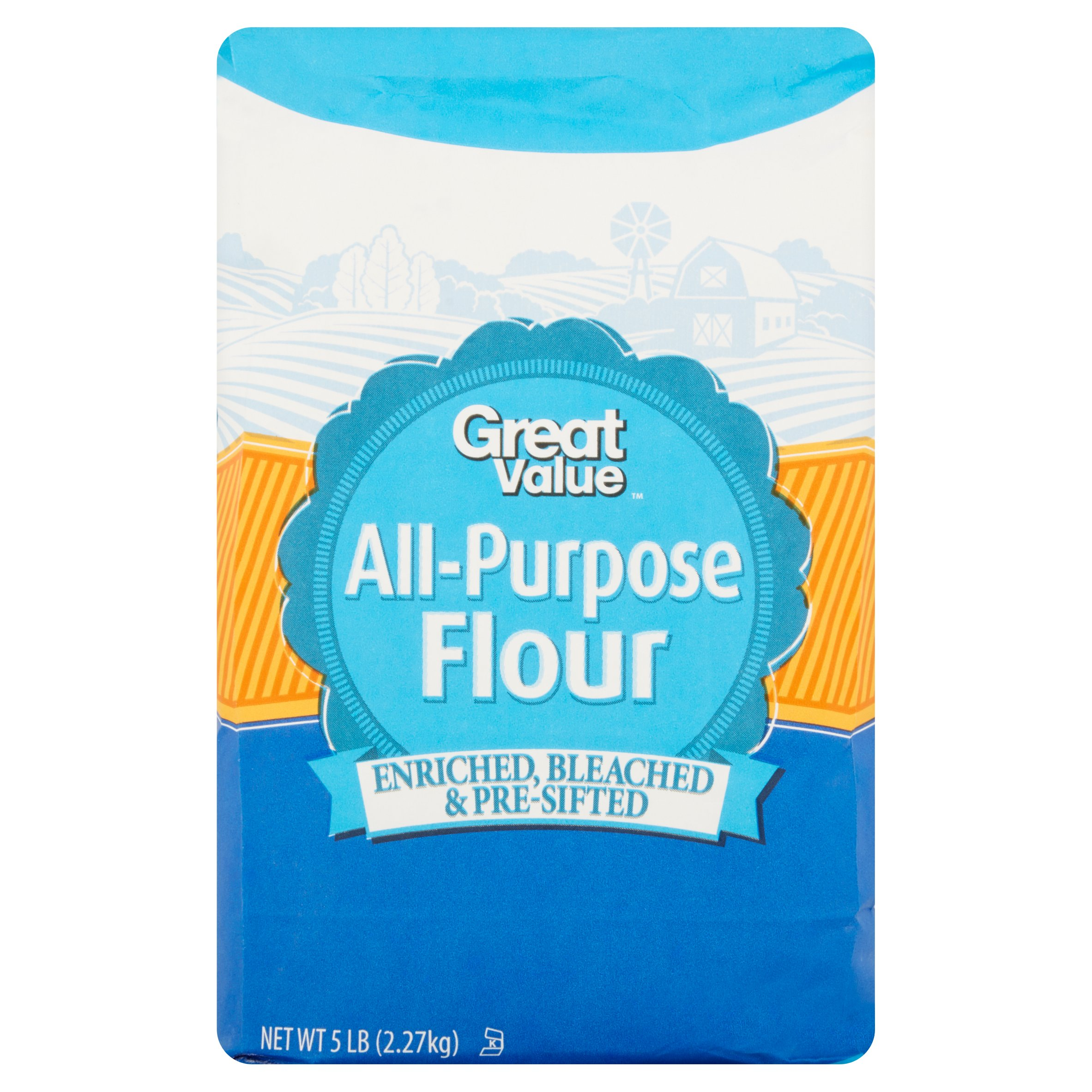 Great Value All-Purpose Flour, 5 lb
