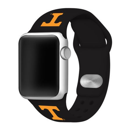 Tennessee Volunteers Silicone Sport Band for Apple Watch - 42mm BLK ()