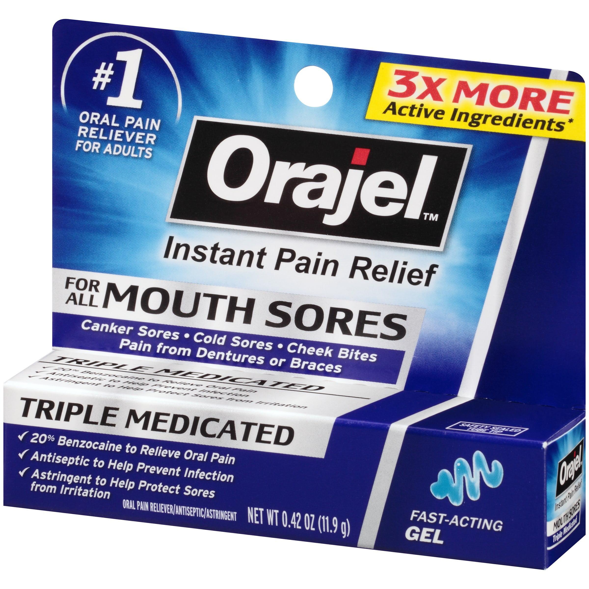 Tooth pain medicine walmart