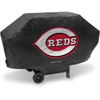 MLB Rico Industries Deluxe Grill Cover, Cincinnati Reds