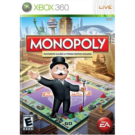 Monopoly Worldwide (XBOX 360) (Smackdown Here Comes The Pain Xbox 360)