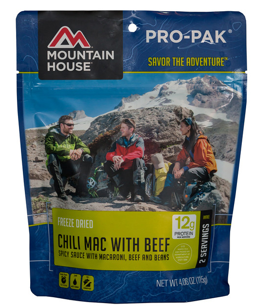 Mountain House Chili Mac with Beef Pro-Pak by Mountain House