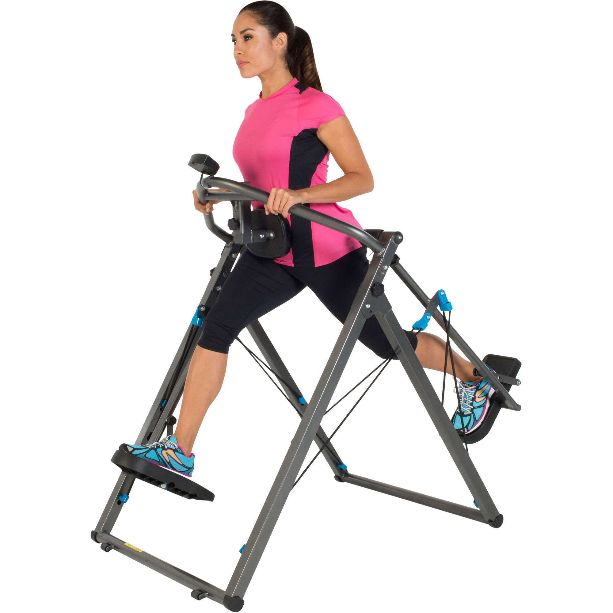 "Fitness Reality Zero Impact 48"" Stride Elliptical Cloud Walker X3 with Pulse Sensors"