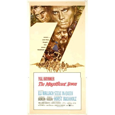"""The Magnificent Seven - movie POSTER (Style B) (20"""" x 40"""") (1960)"""