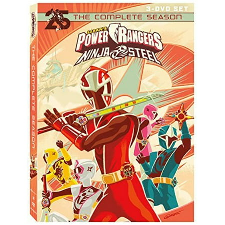 Power Rangers Ninja Steel: Complete Season (DVD)
